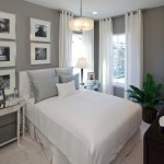 Lovely Curtains Picture Window Bedroom Contemporary With Nail Head Detail And Gray Walls Black And White Photography Dark Stained Wood Gray Walls