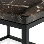 Magnificent Marble Coffee Tables For Modern Coffee Marble With Carrara Marble And Modern Decor Home Brass Marble Carrara Coffee And Accent Tables Side