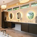 Pleasing Bathroom Travertine Tile Design Ideas Bathroom Contemporary With Backlit Wall Mirror And Bathroom Tiles Backlighting Backlit Wall Mirror