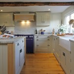 Pleasing Bespoke Kitchen Design Farmhouse Frame Kitchen In Old White With Gingham Chair Pad And Beau-port Kitchen Beau-port Kitchen Bespoke Design