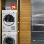 Pleasing Lowes Laundry Room Storage Cabinets Laundry Room Modern With Slate Tile And Laundry Closet Laundry Closet Slate Tile Stackable Washer And