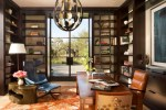 Terrific Leather Wingback Chair Home Office Contemporary with Ottoman Contemporary Office Asian Glass Doors Double Library Ladder Wooden Desk Bookcase