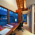 Amazing Garage With Apartment Above Floor Plans Home Office Contemporary With Red Desk Lamp And Built-in Desk Aeron Chair Built-in Desk Dracenae