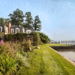 Awesome John Murray Architect Landscape Traditional With Beach House And Pink Flowers Beach House Beachfront Home Brick Chimney Climbing Plants Gable