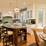 Beautiful Green Subway Tile Kitchen Backsplash Kitchen Traditional With Eat-in Kitchen And Kitchen Table Backsplash Bar Stools Breakfast Country