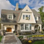 Brilliant Garage With Apartment Above Floor Plans Exterior Victorian With Ribbon Driveway And Ribbon Driveway Bay Window Container Plant Dormer