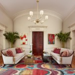 Delightful Area Rug For Living Room Traditional With White Sofa And Contemporary Area Rug Area Rug Contemporary Chandelier Coffee Table Colorful