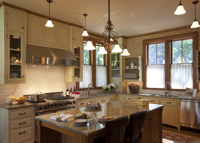 Imaginative Viking Range Colors Kitchen Victorian With Doublehung Windows And Bead Board Bead Board Cafe Curtains Charming Kitchen Classic Kitchen