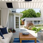 Impressive Blue White Striped Curtains Patio Beach Style With White Table And Transitional California Casually Elegant Deck Chairs East Coast Inspired