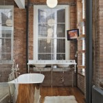 Lovely Bathroom Vanity Chair With Back Bathroom Industrial With Wall-mounted TV And Reclaimed Marble Slabs Alcove Shower Ceiling Lamps Desk And Chair