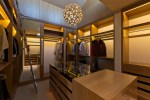 Lovely Closet Ladder Closet Contemporary with indirect Lighting Movable in High Ceilings Large Walk His and Hers Built Custom Master