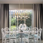 Lovely Jonathan Adler Horse Dining Room Contemporary With Contemporary And Massimo Speroni Bambo Dining Chairs Black And White Striped Curtains Brass