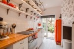 Outstanding Over The Sink Kitchen Shelf Kitchen Eclectic with Shelves Traditional Wallpaper Brackets Smeg Fridge Transitional Red Refrigerator Narrow Space