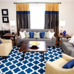Dishy Pale Yellow Curtains And Drapes Living Room Contemporary With Beige Walls And Striped Curtains Arabesque Rug Beige Walls Blue And Yellow Chevron