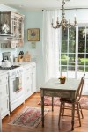 Good-Looking Pictures Of Distressed Kitchen Cabinets Chic Style Shabby with Small Knife Block Renovation Table Cute Kitchen Wood Floor Cottage Pretty Wilmington Ivy