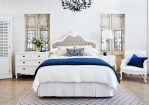 Pretty Baroque Bedroom Furniture Bedroom Transitional with Natural Bedhead French Style Grey Headboard French White Accent Chair White Tallboy Bed Upholstered Chandelier