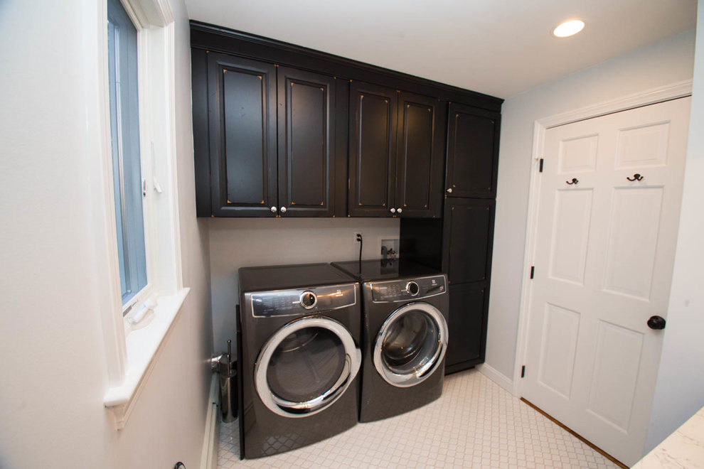 Amazing Kraftmaid Laundry Room Cabinets Laundry Room Transitional With Combination Half