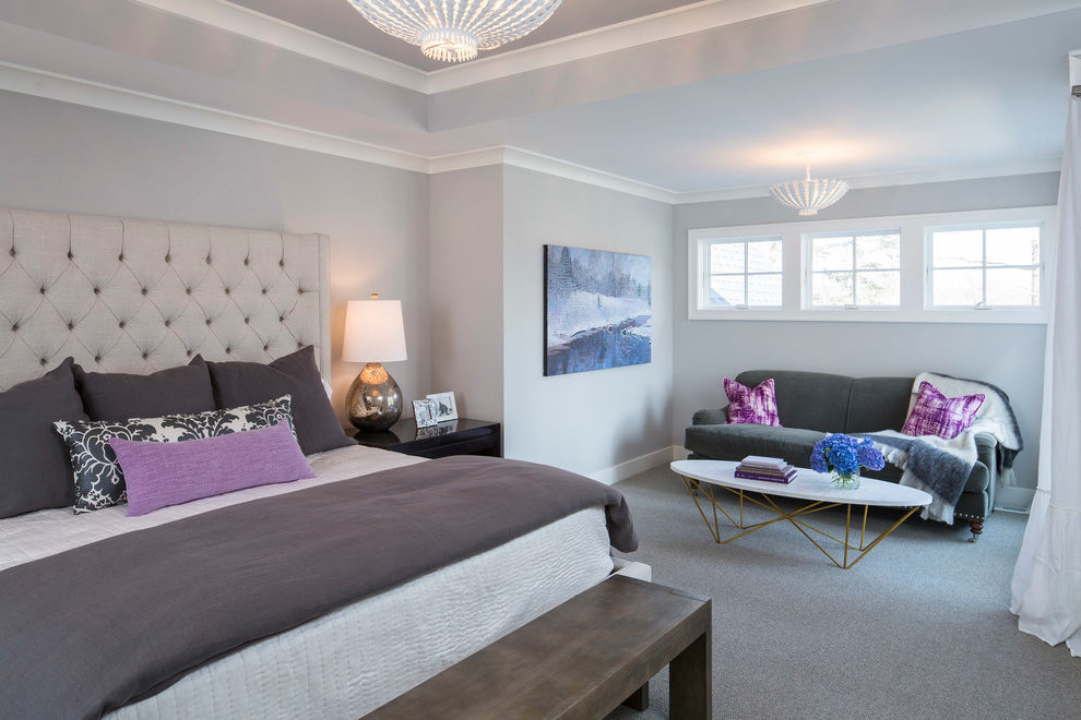 Beautiful Sherwin Williams Latte Pictures Bedroom Transitional With Gray Pillows And Bedroom Seating