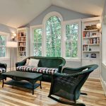 Delightful Floor To Ceiling Bookshelves Family Room Traditional With Wood Floor And Built In
