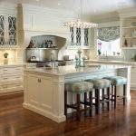 Dishy Backsplash For White Cabinets Kitchen Traditional With Recessed Panel Cabinets And Crown
