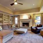Marvelous Floor To Ceiling Bookshelves Family Room Traditional With Beige Sectional And White