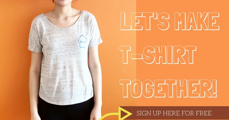 LET'S MAKE T-SHIRTTOGETHER!