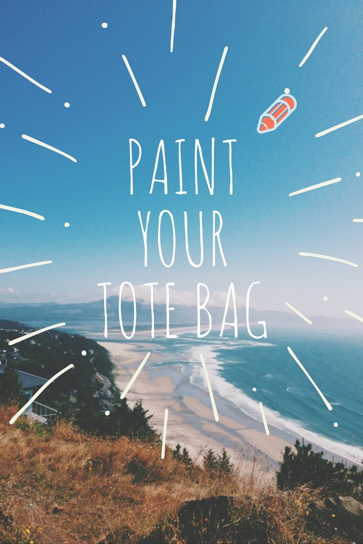 draw and paint your tote bag