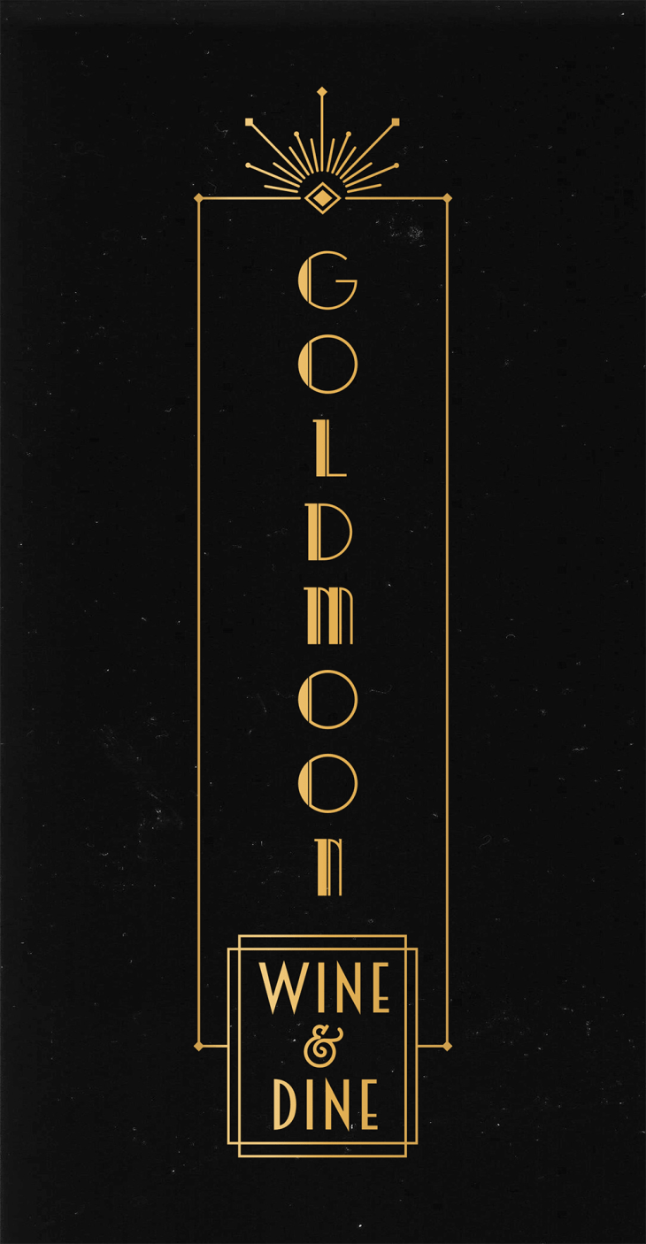 Gold Moon logo
