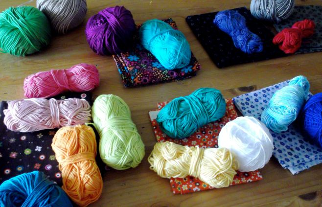 Choosing fabrics and yarns