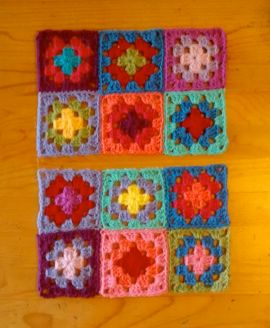 Squares joined.