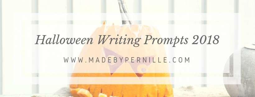 Halloween Writing Prompt Challenge 2018