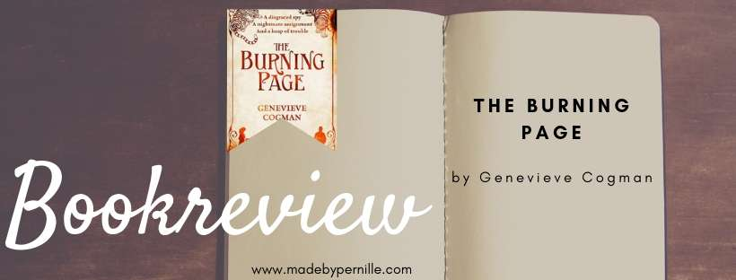 Bookreview The Burning Page by Genevieve Cogman