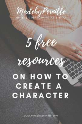 5 resources on how to create a character