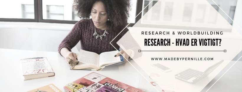 Forfatter research din bog hvad er vigtigt?