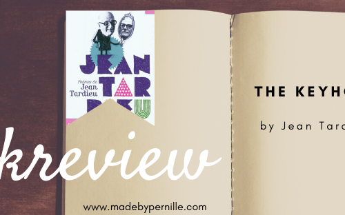 Book review the keyhole by Jean Tardieu