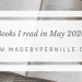What I read in May 2020