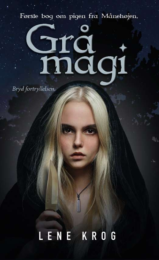 Cover Book review Grå Magi af Lene Krog