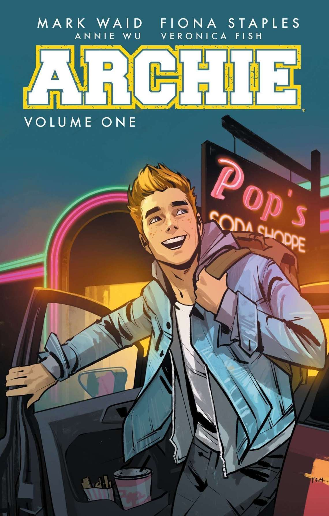Cover Book review Archie comic volume 1 by Mark Waid
