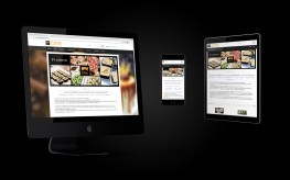 Pralinen Webdesign
