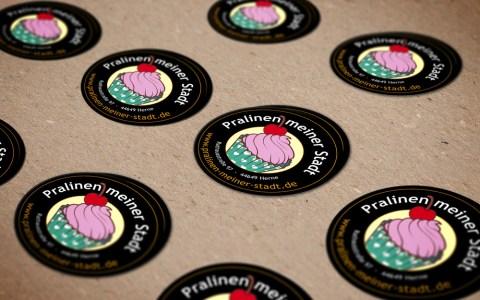 Pralinen Sticker