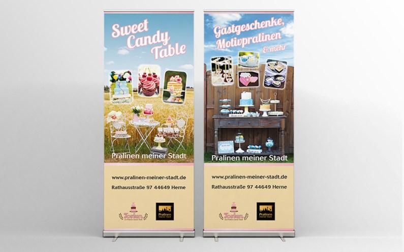 Banner design for trade fairs // Banner design voor beurzen