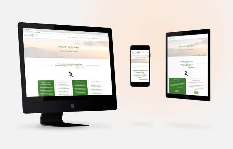 Qi time webdesign