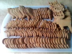 pierniczki miodowe, tradycyjne 2012