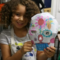 Day of the Dead crafts - masks