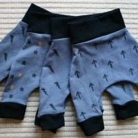 This way up: new baby harem pants