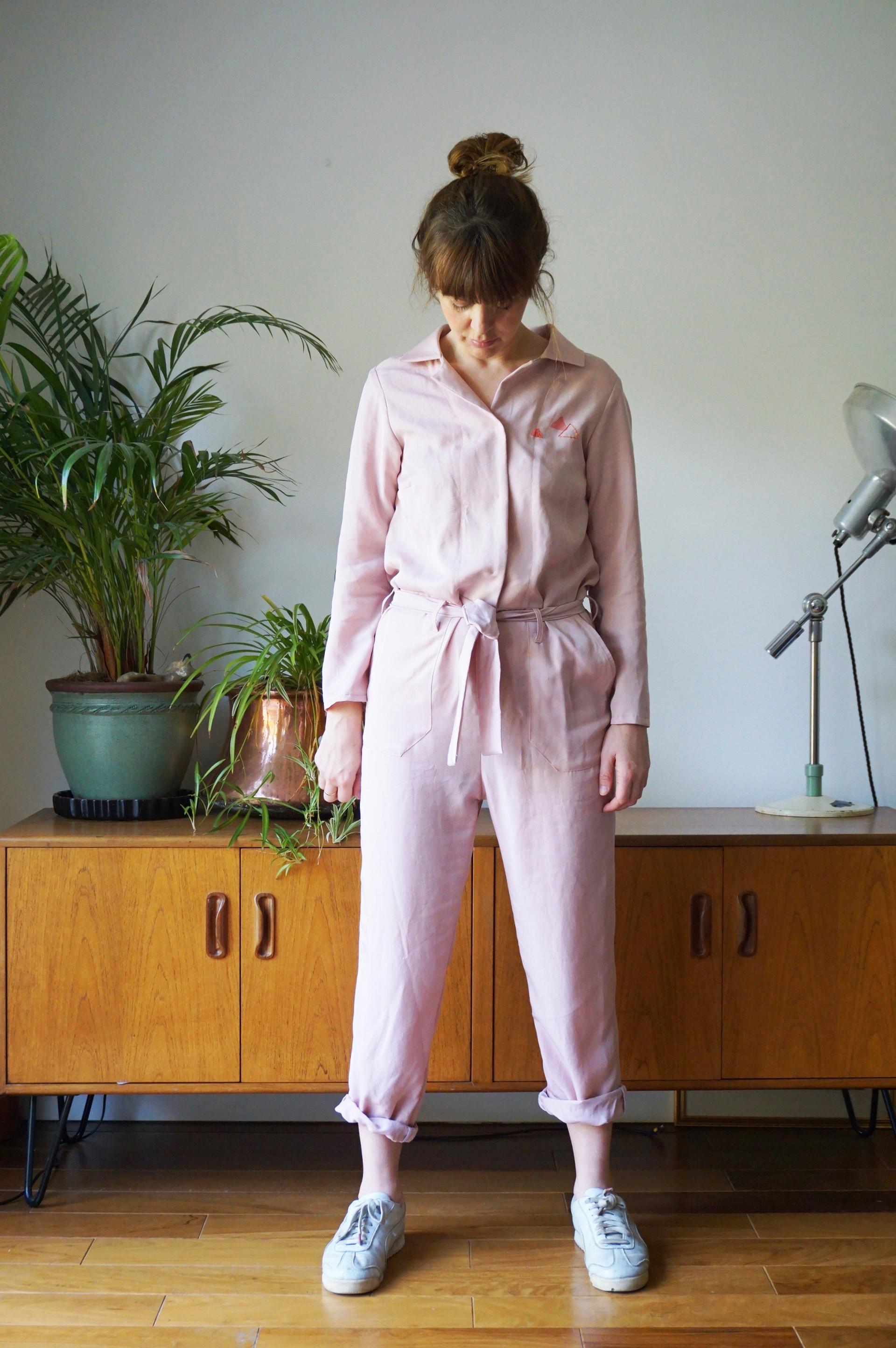 Boiler Suit Sewing Pattern : boiler, sewing, pattern, Screenprinted, Embroidered, Bobbinhood, Boilersuit