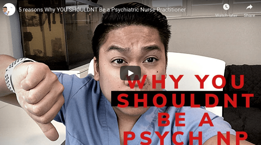 5 reasons Why YOU SHOULDNT Be a Psychiatric Nurse Practitioner