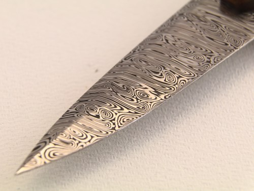 A close-up on the Damasteel