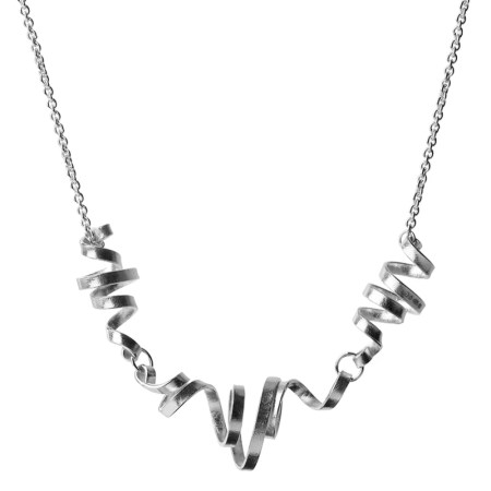 Frances Stunt - Coiled wire necklace