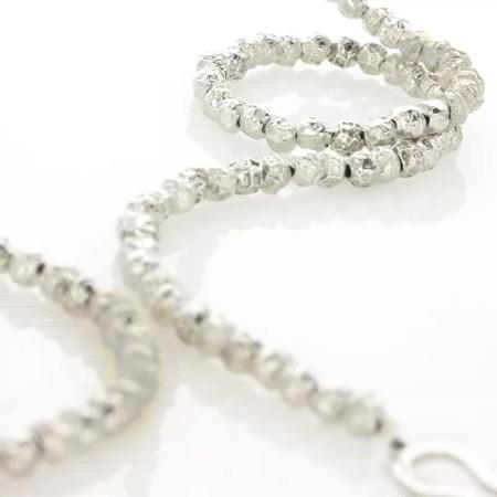 Fiona Hutchinson - Silver and gilt peppercorn necklace